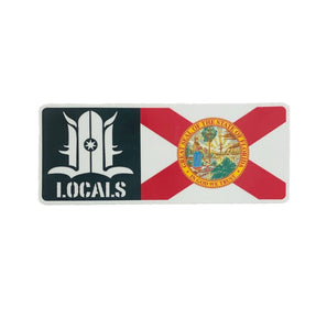 FLORIDA LOCALS STICKER 3""