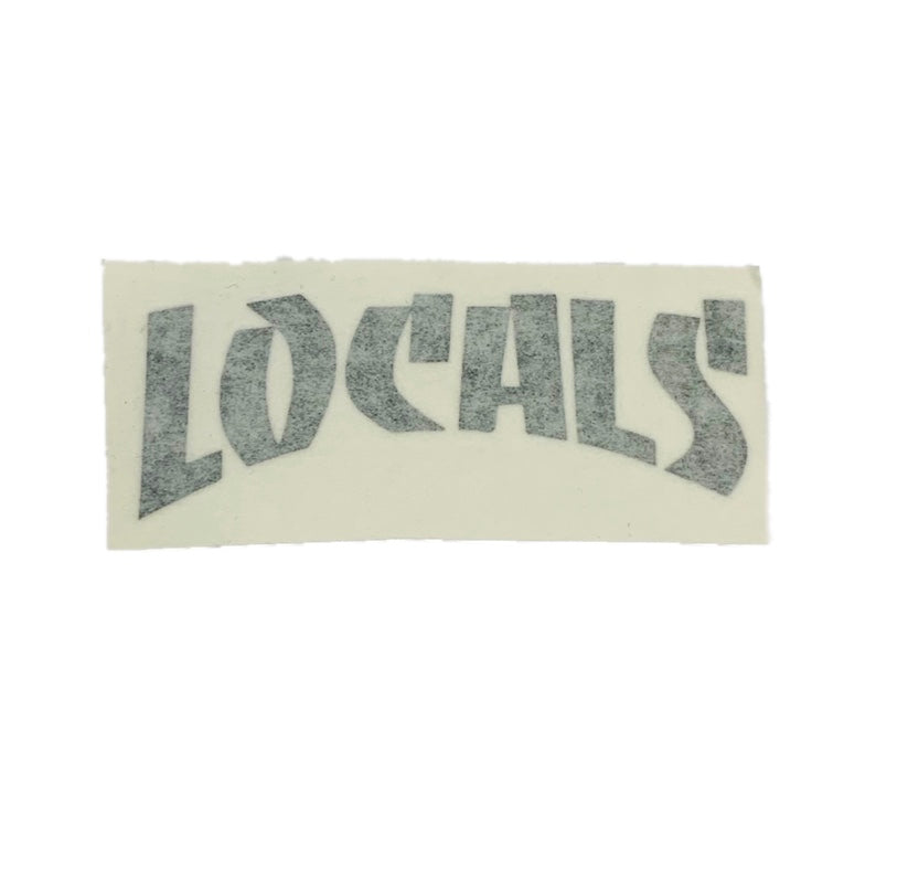 LOCALS THRASHER DYE CUT (BLACK) 3""