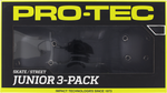 PROTEC JUNIOR 3 PACK PAD SET