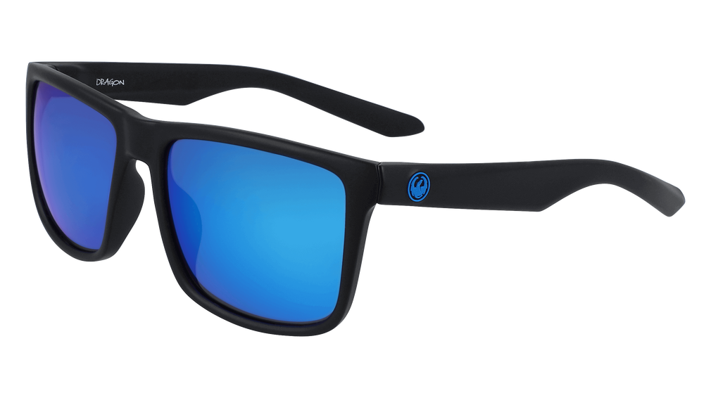 DRAGON MERIDIEN LL H20 POLAR- MATTE BLACK/BLUE ION