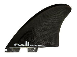 FCS II MODERN KEEL PC TWIN BLACK