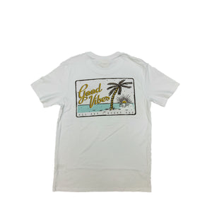 LOCALS MENS GOOD VIBES PALM TEE