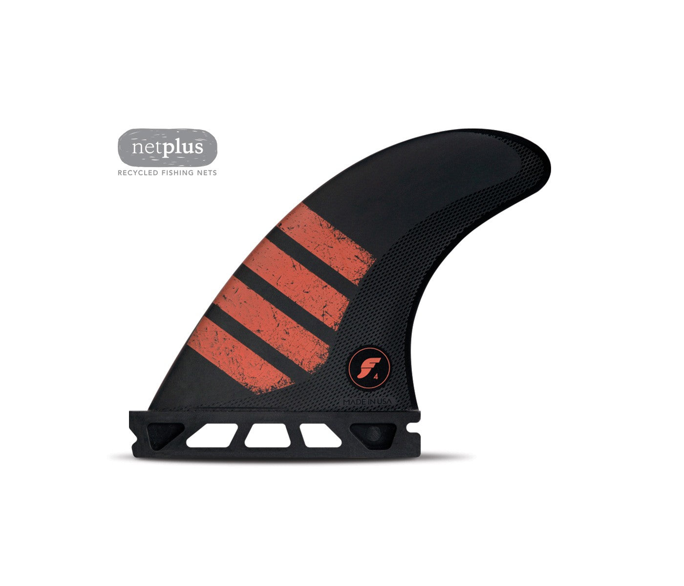 FUTURES F4 SMALL THRUSTER ALPHA CARBON RED