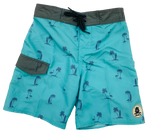 LOCALS TODDLERS FINN BOARDSHORT AQUA