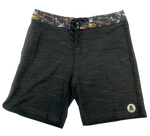 LOCALS MENS TRILL BOARDSHORT  WITH SIDE SEEM POCKETS BLACK
