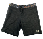 LOCALS BOYS TRILL BOARDSHORT  WITH SIDE SEEM POCKETS BLACK