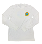 LOCALS TOJ LIGHTHOUSE L/S SUEDED CREW WHITE