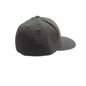 PALM BEACH COUNTY LOCALS CURVED BILL FLEXFIT GREY