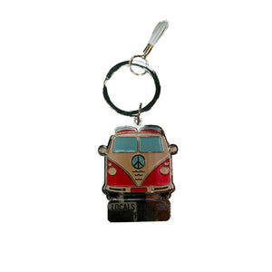 LOCALS VW PEACE COMBI KEY CHAIN