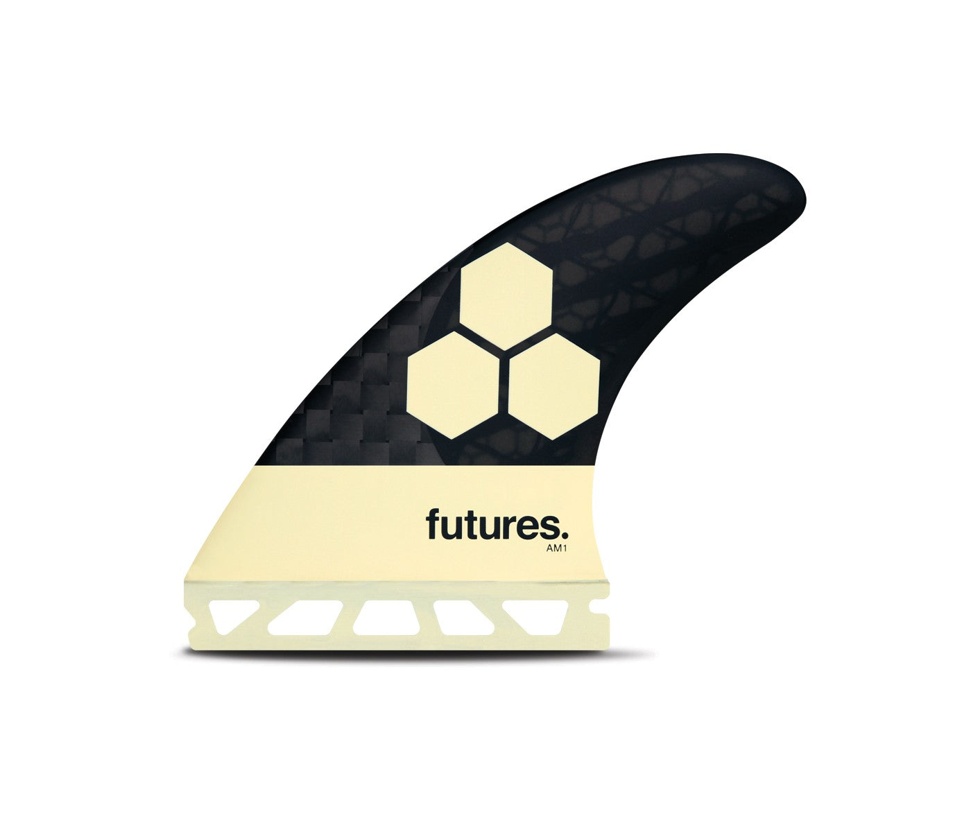 FUTURES V2 AM1 MEDIUM BLACKSTIX 3.0 THRUSTER