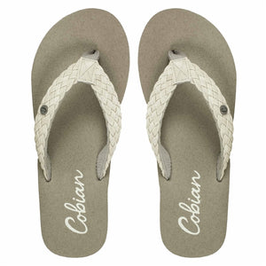 COBIAN WOMENS BRAIDED BOUNCE CREAM
