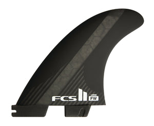 FCS II FW PC CARB BLK LARGE 5-FIN