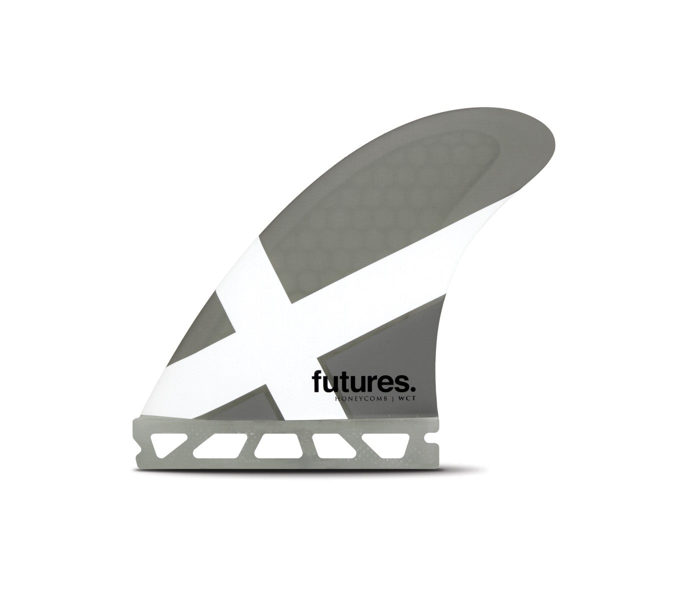FUTURES WCT MEDIUM HC THRUSTER GREY/WHITE