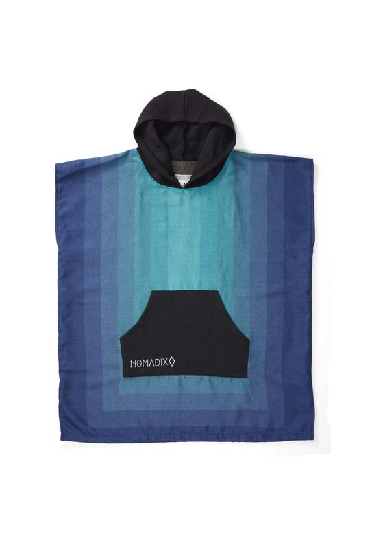 NOMADIX ZONE TEAL CHANGING PONCHO KIDS
