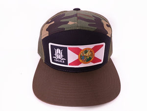 FLORIDA LOCALS 7 PANEL TRUCKER CAMO