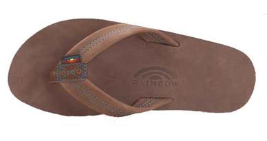 MENS RAINBOW EXPRESSO LEATHER W/BLUE
