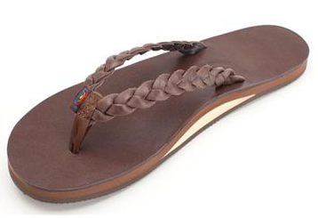 WOMENS  RAINBOW TWISTED SISTER EXPRESSO TOPSOLE