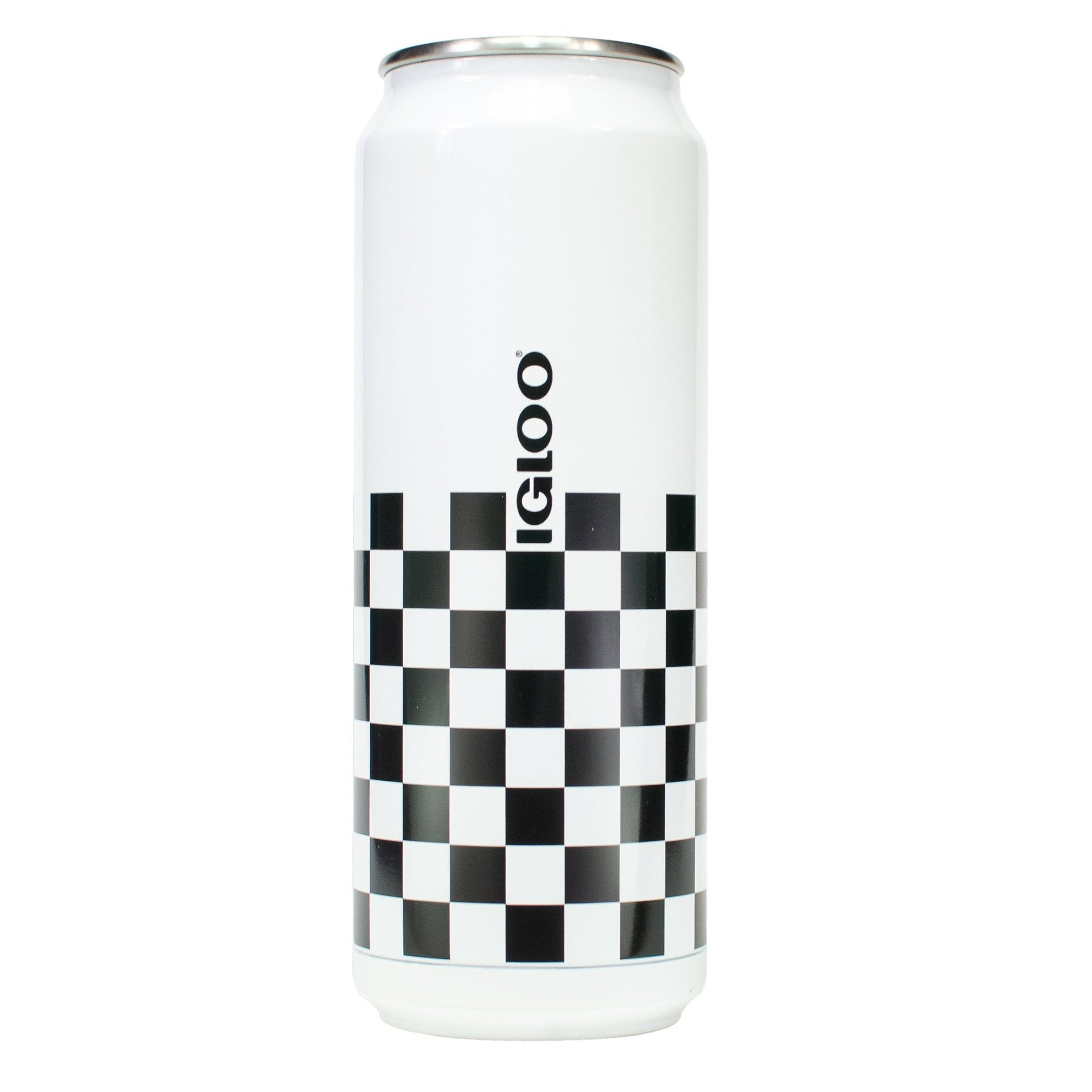 IGLOO 16OZ CHECKERED TUMBLER CAN