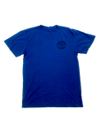 LOCALS MENS SSL INSPIRED DYE TEE OCEAN/NAVY