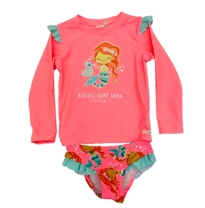 UNDER THE SEA MERMAID WETSHIRT SET