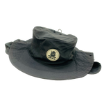 LOCALS JOURNEY WATERMANS SUN HAT BLACK