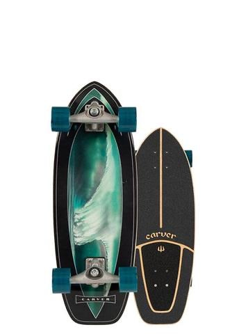 "CARVER C7 28"" SUPER SNAPPER SURFSKATE COMPLETE"