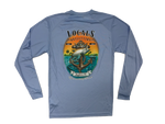 LOCALS MENS TARPON ANCHOR L/S UPF TEE BLUE MIST
