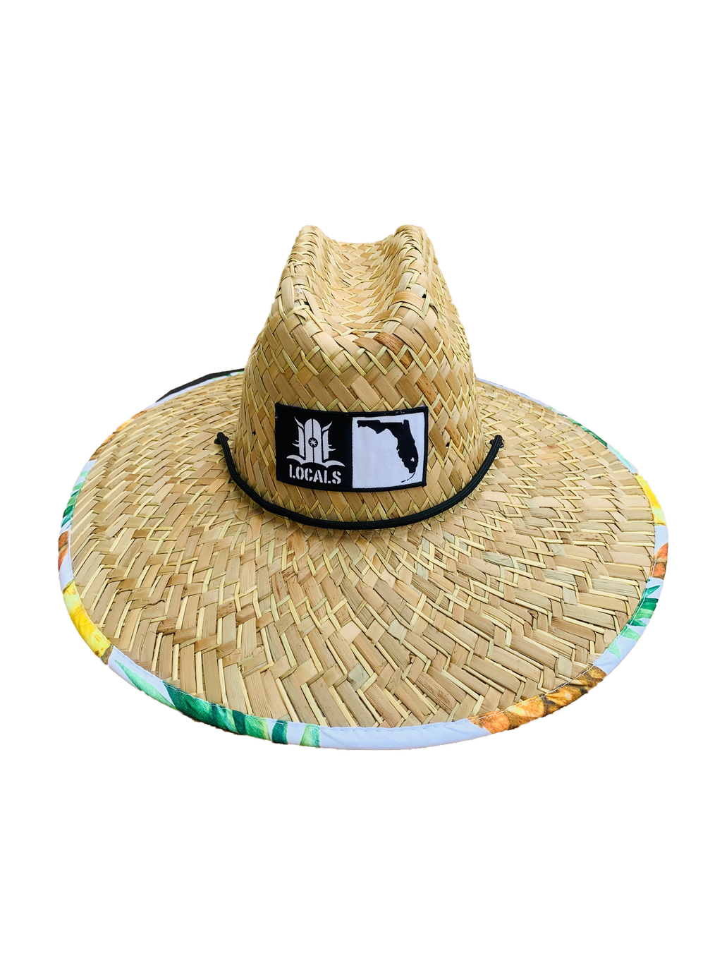 FLORIDA BOARDERS SLICE N DICE STRAW HAT