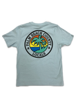 PALM BEACH COUNTY LOCALS YOUTH COTTON TEE LIGHT BLUE