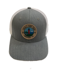 LOCALS TOJ YOUTH CURVED BRIM TRUCKER H. GREY/WHITE