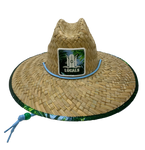 LOCALS SKY HIGH PATCH STRAW HAT