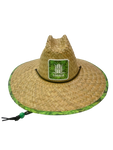 LOCALS LUSH PALMS PATCH STRAW HAT