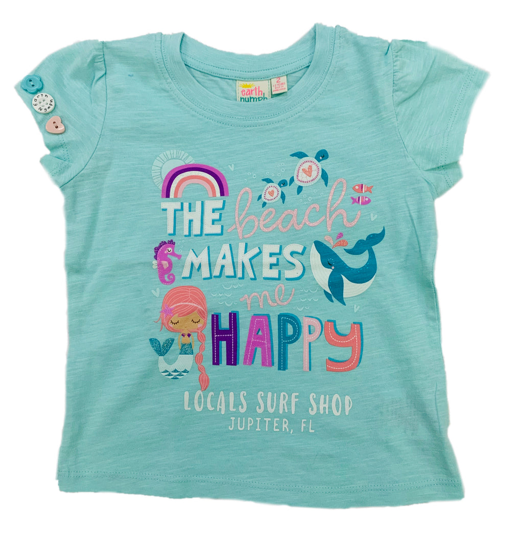 HAPPY BEACH GIRLS T
