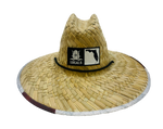 FLORIDA BOARDERS STATESIDE MAP STRAW HAT