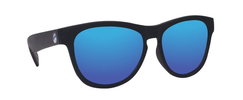 MINI SHADES 8-12 BLACK/BLUE MIRROR