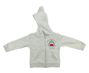 SHARKY BABY BOY HOODY