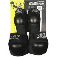 187 COMBO KNEE/ELBOW PAD SET
