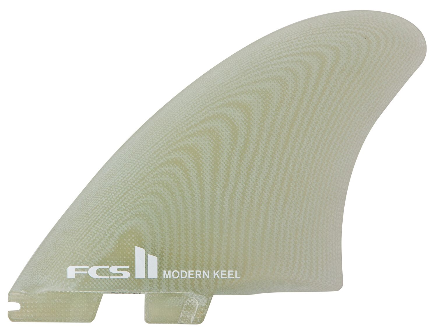 FCS II MODERN KEEL PC TWIN CLEAR
