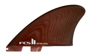 FCS II RETRO KEEL PG TWIN RED