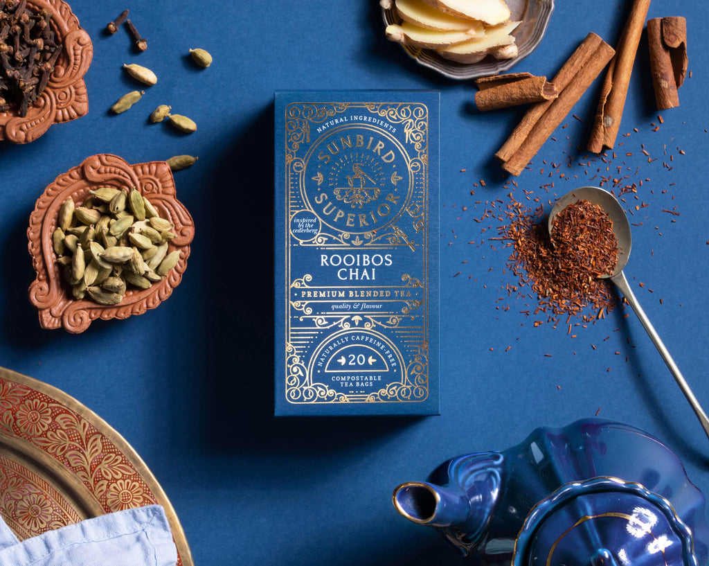 Inspired by Cape Town and the maritime spice route from Asia to Europe