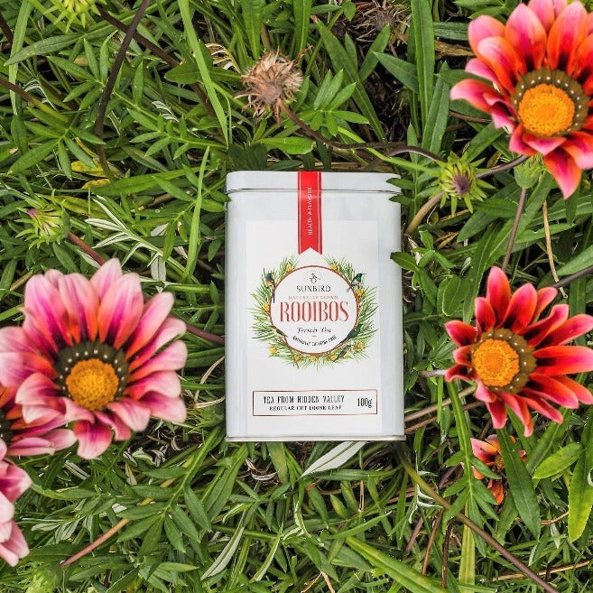 HIDDEN VALLEY • Regular-Cut Loose Leaf Rooibos • 100g