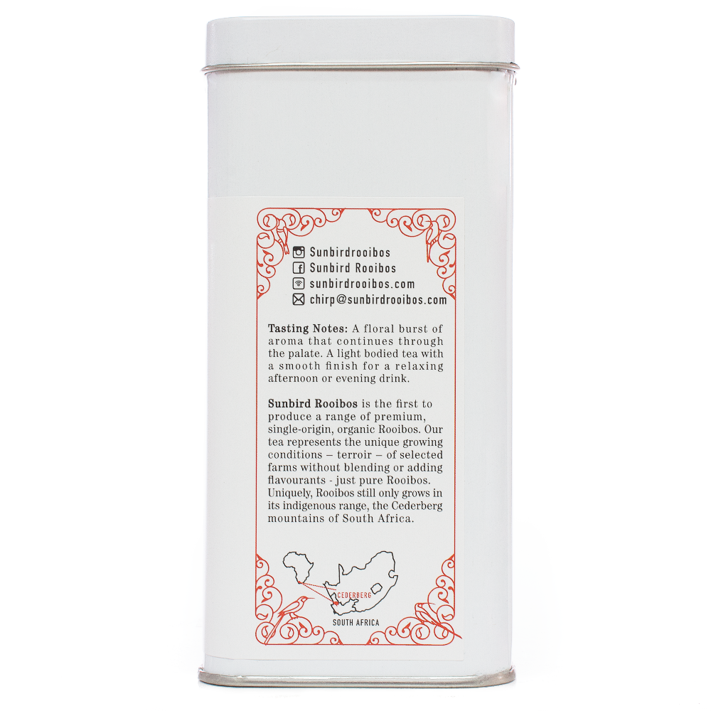 Sunbird Rooibos Olifants Valley loose leaf single origin rooibos tea