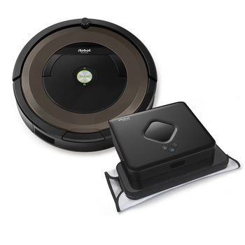 iRobot® Roomba® 690 Vacuuming Robot & Braava jet™ 240 Mopping Robot Bundle Diagnostic