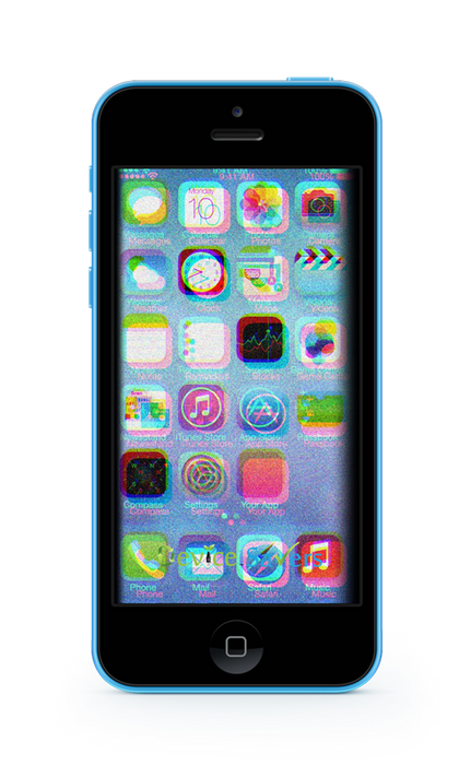 iPhone 5C Glass & LCD Replacement