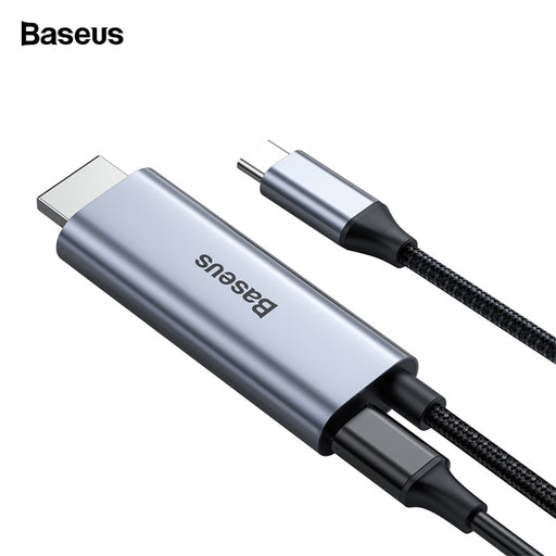 Baseus USB-C to 4K HDMI with 60W PD Power Adapter Thunderbolt 3 MacBook Pro | Samsung
