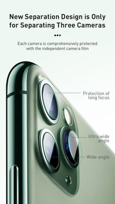 iPhone 11 Pro Max .15mm Back Camera Lens Glass Protector