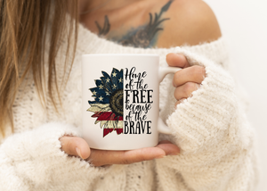 Home of the Brave Mug