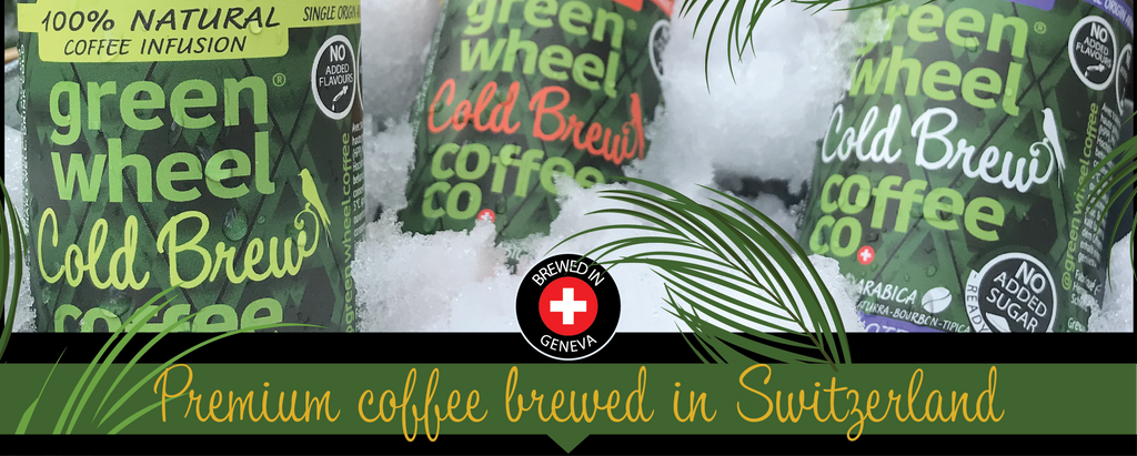 Premium Colombian Coffee Brewed in Switzerland