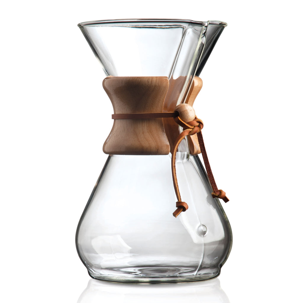CHEMEX Woodneck 8 Cup - greenwheelcoffee