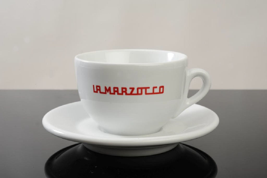 La Marzocco Cappuccinocup-Set 6 Pieces - white - greenwheelcoffee